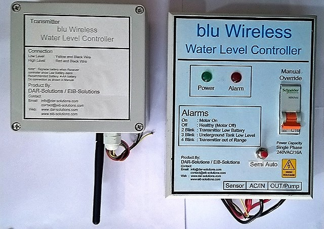RF Wireless Water Level Controller (Available as White-lable device)