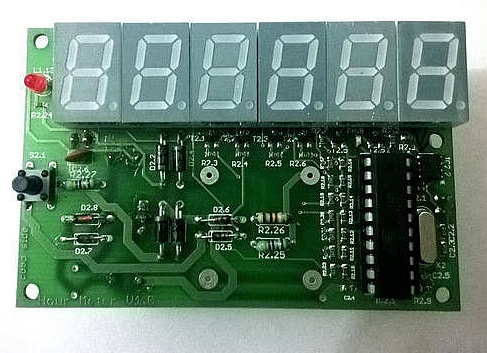 Time Totalizer / Hour Meter with Battery backup (Available as White-lable device)