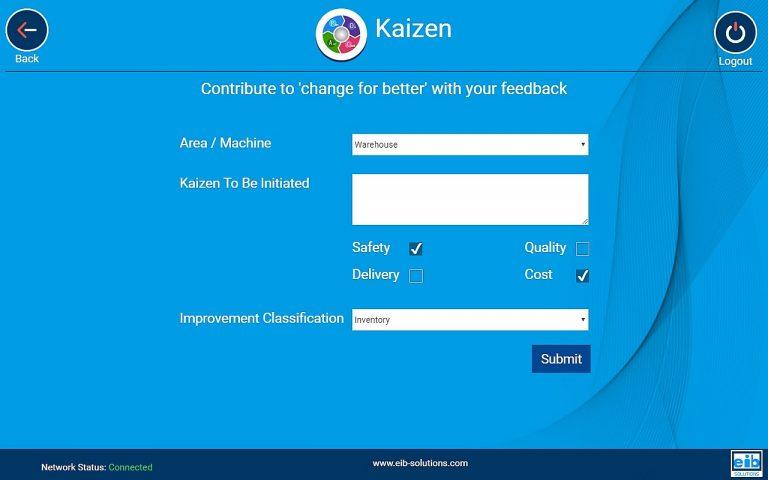 Customizable KAIZEN Form