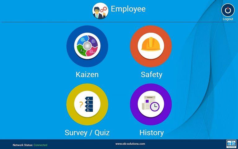 KAIZEN System - Customizable menu